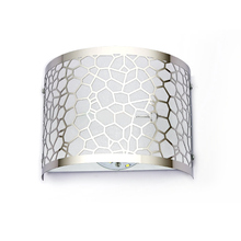 buy Modern Water Cube Stainless Steel Wall Lamp American Indoor Lighting Bedside Lamps Wall Lights For Home 110V/220V E27,image LED lamps offers