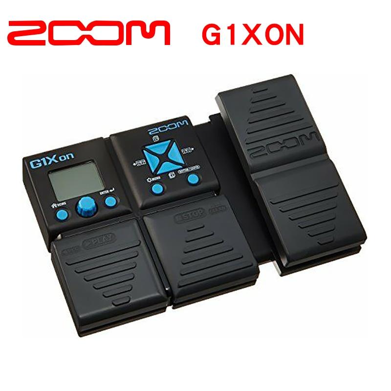 Zoom G1XON Electric Guitar Multi Effector Processeur Stomp Pedale