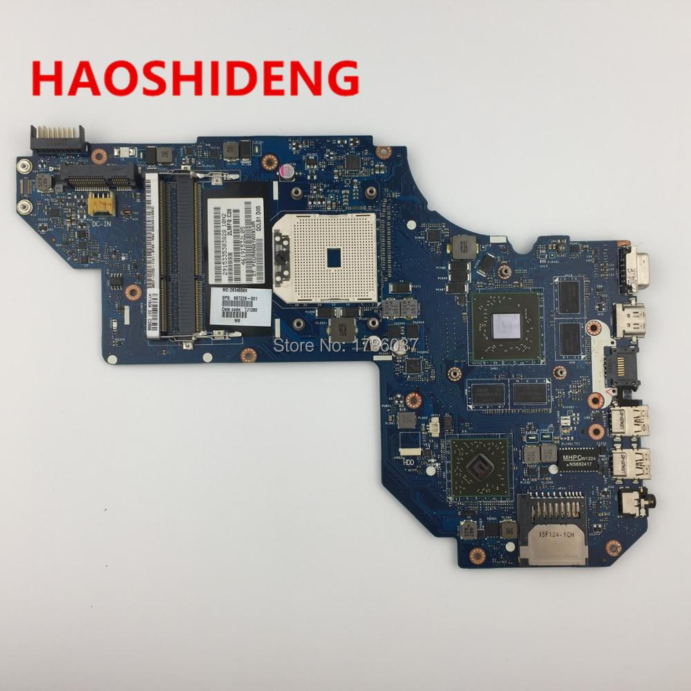 687229-001 QCL51 LA-8712P for HP Pavilion M6 M6-1000 motherboard with HD7670M/2G Video card.All fully Tested! 687229 001 for hp pavilion m6 1000 laptop motherboard la 8712p 687229 501 free shipping 100% test ok