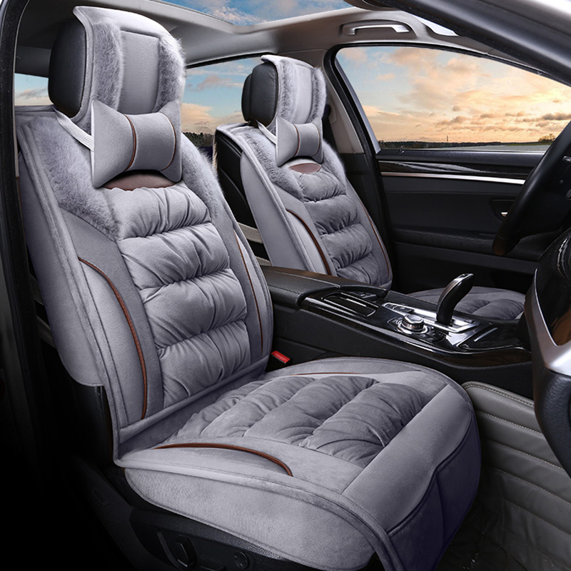 General Car Seat Cover Plush Cushion Winter Mats For Audi A1 A3 A4 A6 A7 A8 Q3 Q5 Q7 Styling In Automobiles Covers From