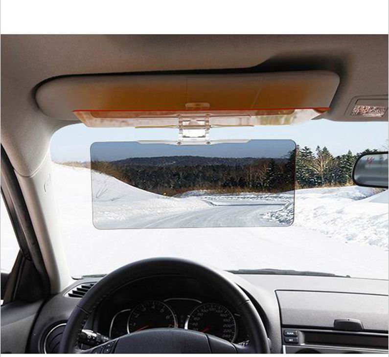 HD Vision Visor Day   Night Visor Easy View HD HD Day Night Vision Flip  Down Visor Easy Sun Glare Block View UV As Seen On TV-in Front Window from  ... 407bfcd6818
