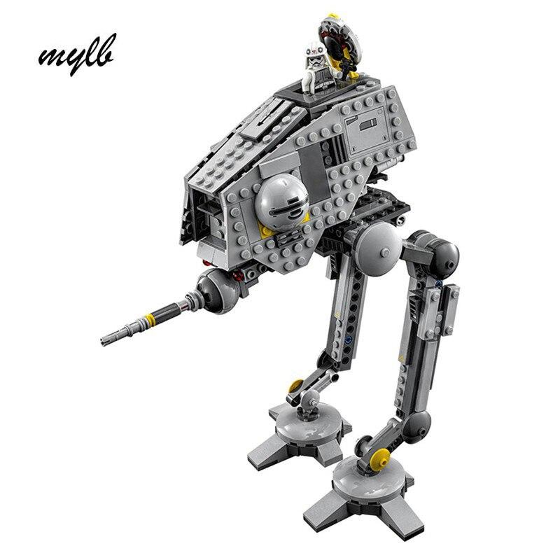 mylb NEW 499pcs New Star Wars AT-DP Building Blocks Toys Gift minis Rebels animated TV series Compatible drop shipping