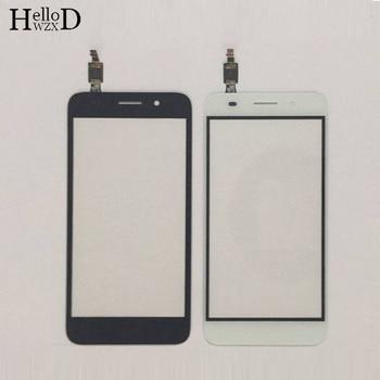 Ekran dotykowy ekran dotykowy dla Huawei Y3 2017 CRO-U00 CRO-L02 CRO-L22 dotykowy przedniej szyby ze szkła panel digitizera czujnik + folia ochronna