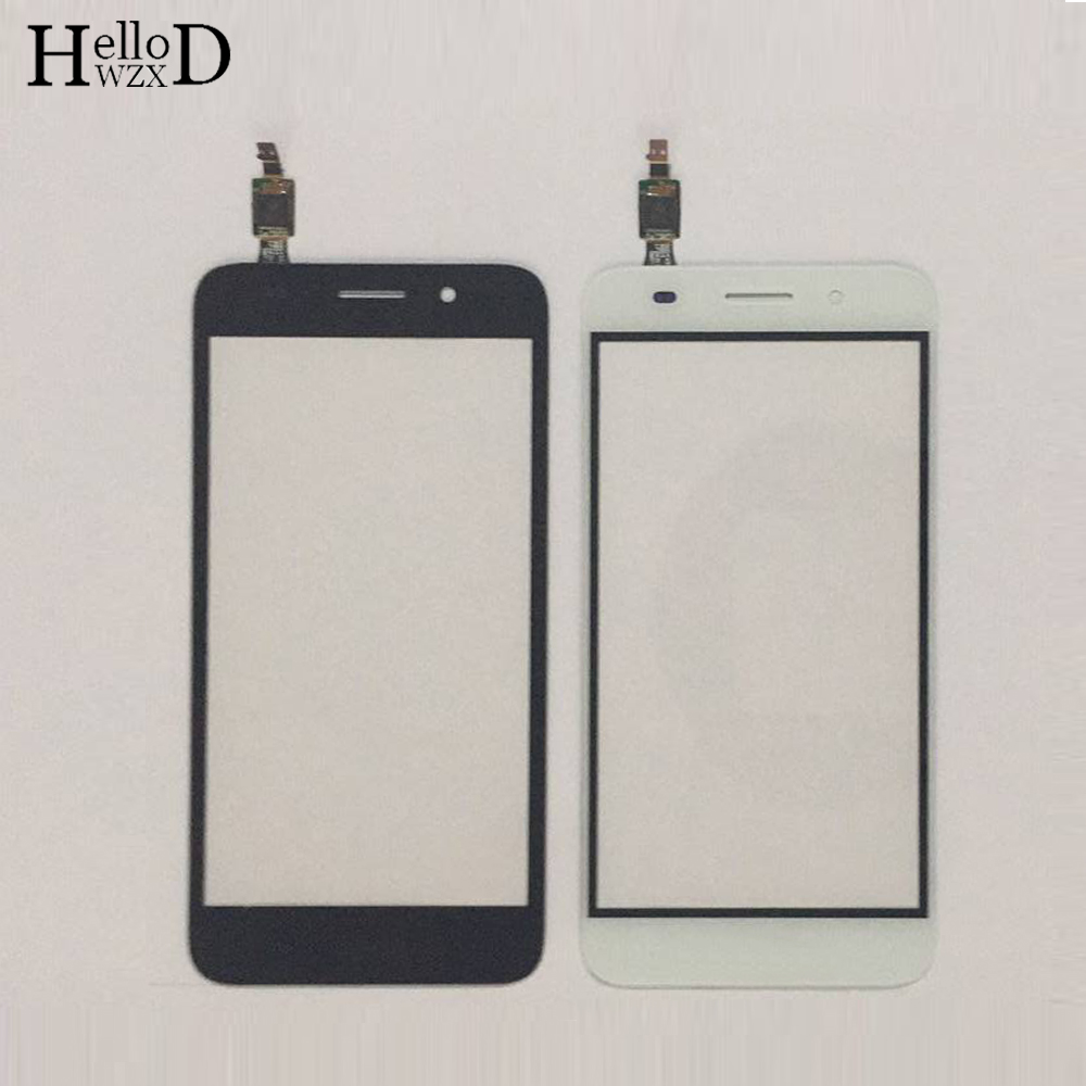 Touch Screen TouchScreen For Huawei Y3 2017 CRO-U00 CRO-L02 CRO-L22 Touch Glass Front Digitizer Panel Sensor + Protector Film