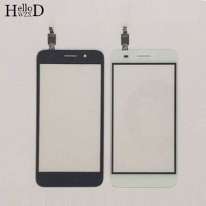 Image 1 - Touch Screen TouchScreen For Huawei Y3 2017 CRO U00 CRO L02 CRO L22 Touch Glass Front Digitizer Panel Sensor + Protector Film