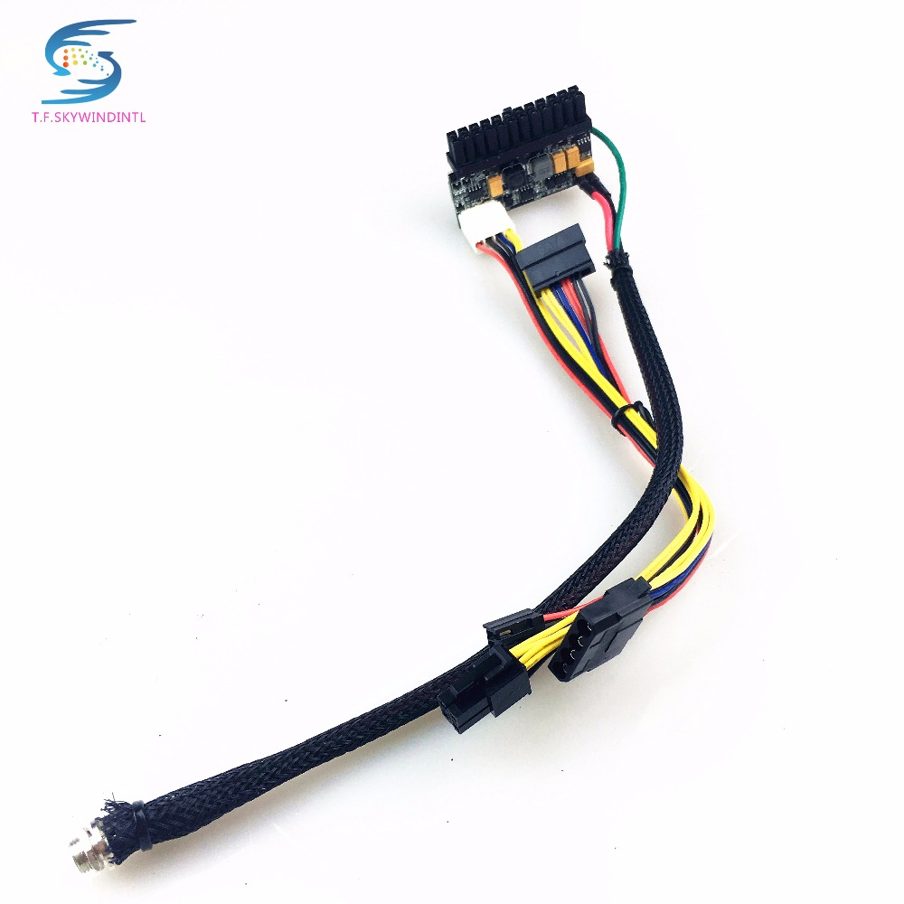 Free Ship 150w Power Supply 24pin 12v Dc Mini Itx Psu Atx Pc 24 Pin Wiring Diagram Switch Mould To Pico Box In Supplies From Computer Office On