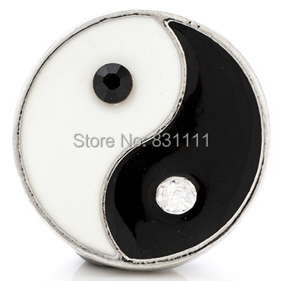 NSB1267 Hot Sale Snap Jewelry Fashion Button For Bracelet DIY Findings Gossip Snaps Smile Charms