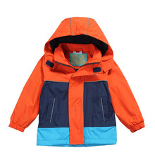 New  Children Jackets Polar Fleece Spring Children Outerwear Warm Sporty Kids Clothes Waterproof Windproof Boys Tops For 2-13 T