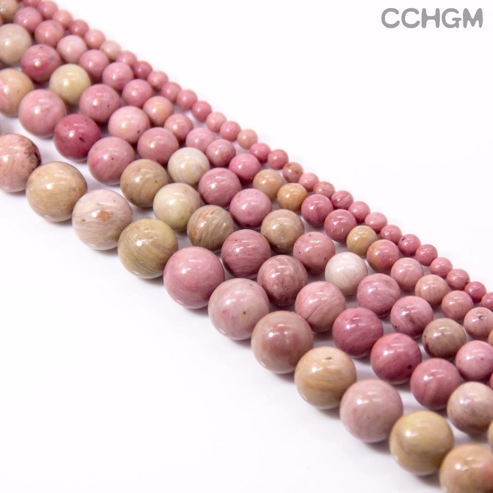 CCHGM visokokvalitetne prirodne rodohrosite kamene perle za izradu - Modni nakit