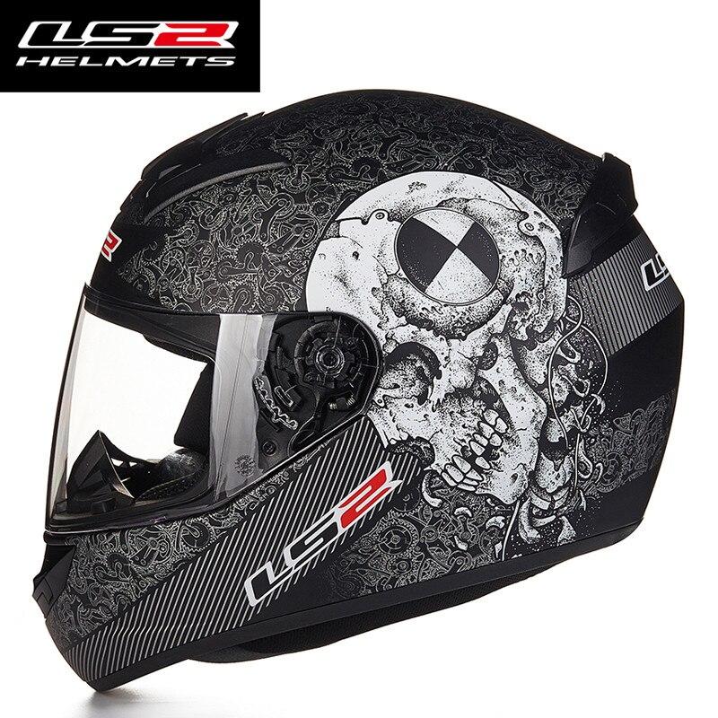 Nouveau LS2 FF352 Plein Visage Moto Casques ECE Approuvé Racing Casque Moto casque capacete da motocicleta L XL XXL taille