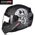 Nueva ls2 ff352 la cara llena de motos cascos ece aprobado casco de carreras de moto casco capacete motocicleta da l xl xxl tamaño