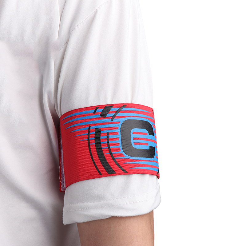 Professional Captain Armband 1pc Colorful Football Soccer Flexible Sports Adjustable Player Bands Football Supplies