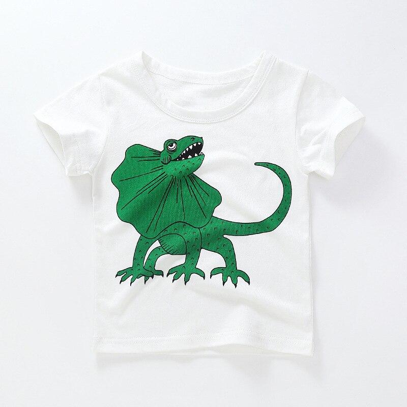 AiguanCartoon Cat Toddler//Infant Short Sleeve Cotton T Shirts Black