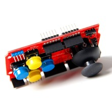 JoyStick Keypad Shield For Robot Arduino UNO 2560 1280 R3 ARM(China (Mainland))