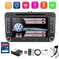 Новый 7 2din автомобильный DVD для VW GOLF 4 Гольф 5 6 поло PASSATCC Jetta Tiguan блок EOS SHARAN SCIROCCO T5 CADDY с gps