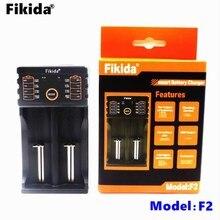 2018 Fikida F2 18650 Carregador 1.2 v 3.7 v 3.2 v 3.85 v AA/AAA 18350 26650 14500 16340 25500 NiMH Carregador Inteligente de Bateria De Lítio USB