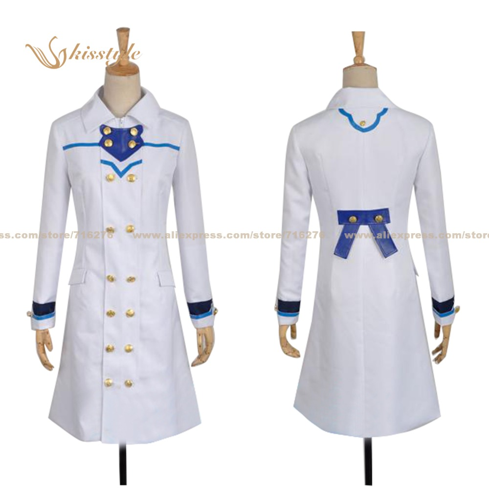 Kisstyle Fashion Snow White with the Red Hair Shirayuki Coat Uniform COS Clothing Cosplay Costume,Customized Accepted