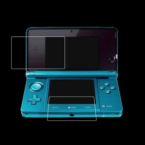 HD Clear Film Top+Bottom LCD Screen Protector For New Nintendo 3DSLL/XL Console