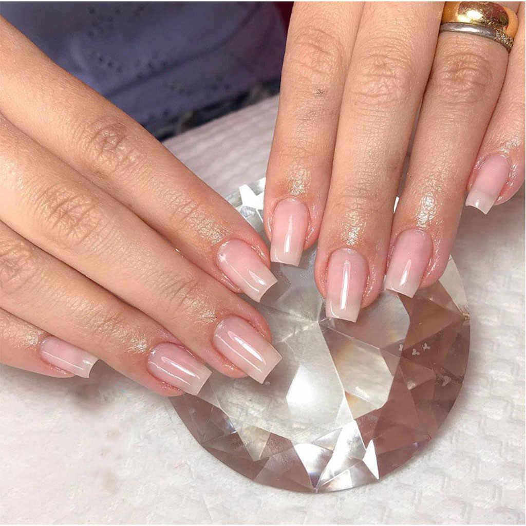 25g Poly Gel Extension des ongles fibre de verre Gel extensible ongles clairs acrylique ongles formes fibre de verre ongles Gel de construction bricolage vernis