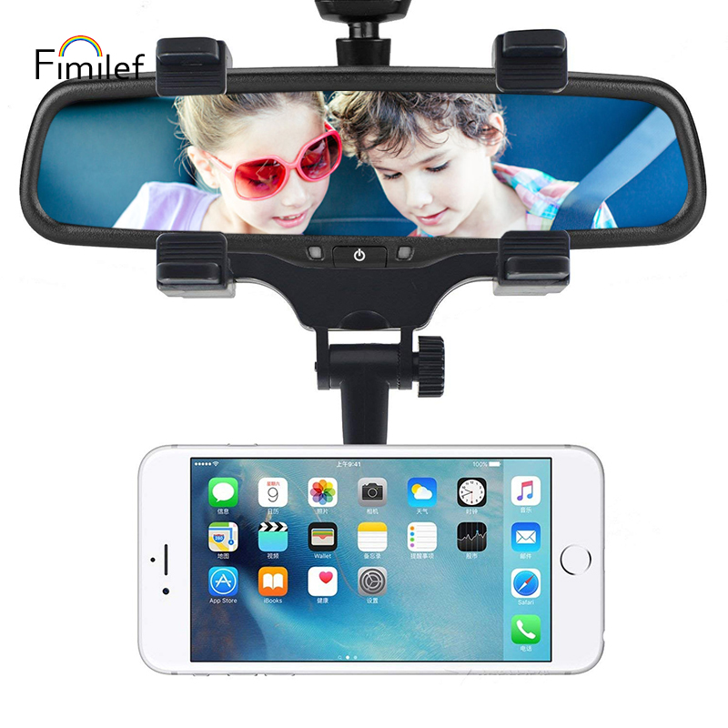 Fimilef Magnetic Car Phone Holder Car Rearview Mirror