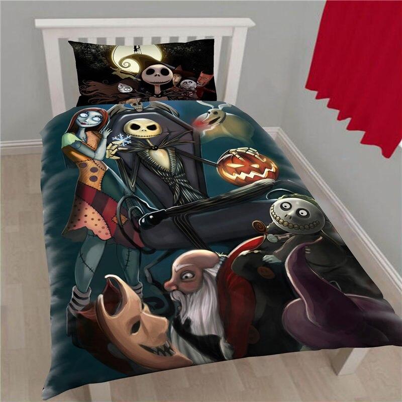 Nightmare Before Christmas Bedding Set Queen