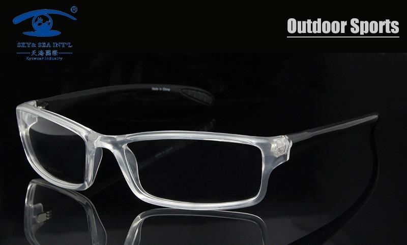 61a4ec476202 Mens monturas de lentes hombre Outdoor Sports Glasses Prescription  Eyeglasses Frames Men TR90 Flexible 6 Base oculos de grau -in Eyewear Frames  from Men s ...