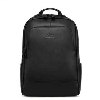 New Brand Cow Genuine Leather Men Backpacks Fashion Real Natural Leather Student Backpack Boy Luxury Lager Computer Laptop Bag - DISCOUNT ITEM  50% OFF All Category