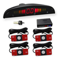 Reverse 13mm Flat Parking Sensor 12v Car Radar Detector LED Display Parktronics 4 Original Sensor Parking Partronic