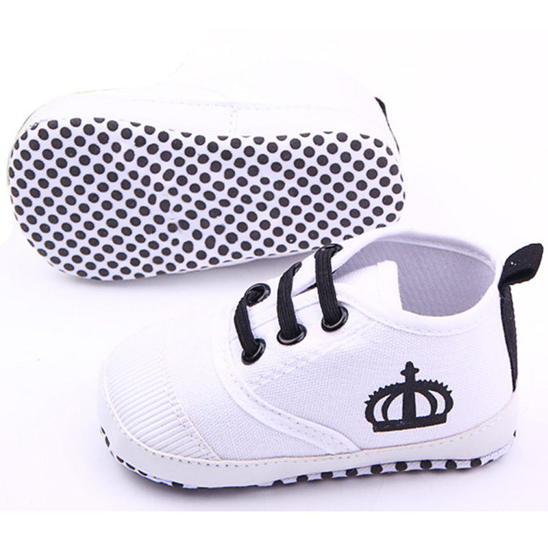 For Baby Boy Girls Shoes Soft Sole Kids Toddler Infant Boots Prewalker First Walkers 0-12 Months