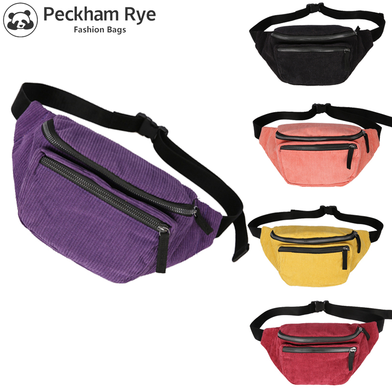 2019 NEW Fashion Women's Waist Bags Travel Money Fanny Pack For Women Gilrs Waist Packs Black Belt Chest Bag