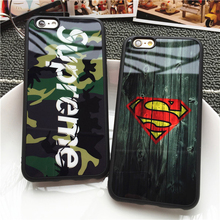 Camouflage Mirror Case for iPhone 7 6 6s SE 5S