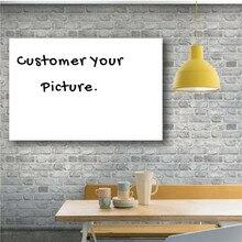 цена на Wholesale Customized HD Prints Painting Wall Art Custom Made Canvas Art Picture Modular Modern Home Decor Drop Shipping Framed