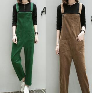 TUHAO 2018 Spring Women Casual Jumpsuits Plus Size 3XL 4XL 5XL Overalls Simple Pockets Solid Female Jumpsuits Clothing MS70