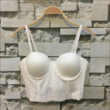 2017 Sexy White Tank Tops Summer Short Corset Fashion Lady Camis Tops Midriff-baring Crop Top Quality Guarantee XY030