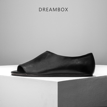 dreambox Summer males's sneakers with actual leather-based sandals and sandals for males