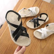 Kids Beach Shoes For Girls Boys Pu Leather Gladiator Sandals Children S
