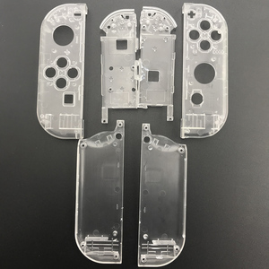 Image 4 - 10sets Plastic Joy Con Housing Case Cover For Nintendo Switch Clear Custom Controller Shell Colorful Buttons