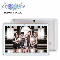 BOBARRY 10,1 дюймов S106 Octa Core 2,0 ГГц Android 6,0 4 г LTE android планшет Smart tablet PC, детский подарок на день рождения Супер компьютер