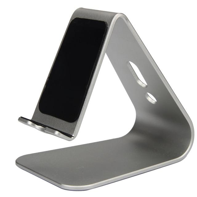 noble en aluminium support de bureau table stand cradle mount pour t l phone portable tablet. Black Bedroom Furniture Sets. Home Design Ideas