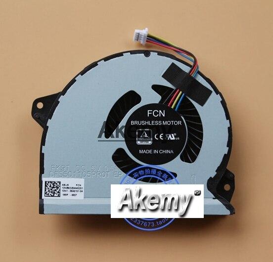 Nouveau ventilateur de refroidissement/refroidisseur pour ordinateur portable/ordinateur portable d'origine pour Asus ROG Strix GL702 GL702VS S7VS DFS501105PR0T-FK9T