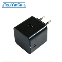 Touyinger Multifunction USB Charger Adapter Universal Travel Wall Charger 5V 2A US EU Plug for Xiaomi Mobile Phone