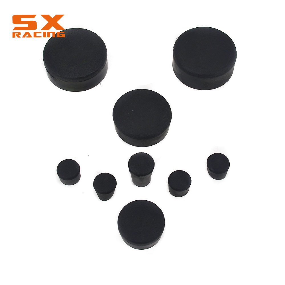 Motorcycle Street Bike Fairing Frame Plugs for <font><b>SUZUKI</b></font> GSXR1000 <font><b>GSX1000R</b></font> GSXR 1000 2005-2006 05 06 image