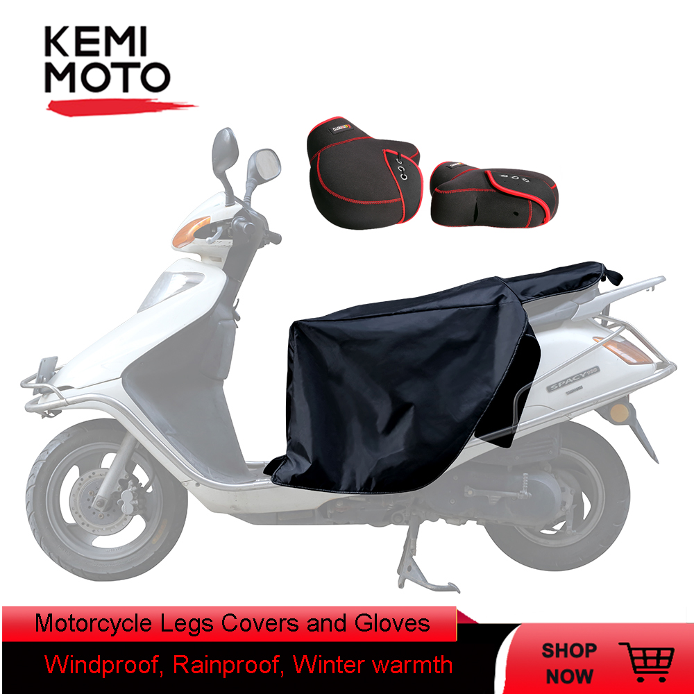 Hand-Gloves Motorcycle-Legs-Covers Scooters Vespa YAMAHA Peugeot for Waterproof LX GTS