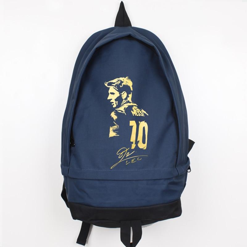 ახალი ჩამოსვლა Messi Canvas Backpack - ზურგჩანთა - ფოტო 5