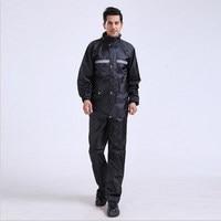 raincoat split adult male motorcycle outdoor raincoat rain pants suit fishing waterproof
