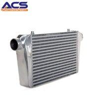 ACS-Core Tamanho 450x300x76mm Bar E Placa de Alumínio Do Ar Para O Ar Intercooler Universal 3 Polegadas de Entrada/Saída