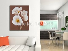floral wall art Canvas Oil Painting 100% Hand Painted Modern Flower Wall Paintings On The Picture Art