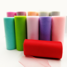 Tulle Roll 15cm 25Yard Rolls Wedding Decoration Mariage Fabric Organza DIY Craft Birthday Party Supplies