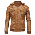 2016 Men's Faux Leather Jackets American Style Plus Size Brand Designer Leather Suede 5XL Winter Michael Jackson Jackets S1962
