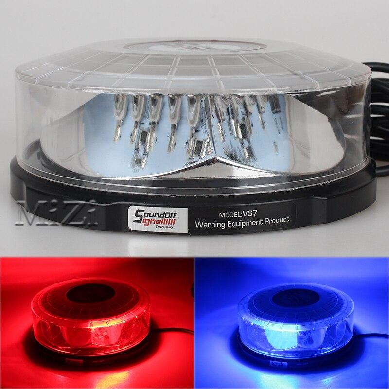 AUTO CAR LED ROOF Flashing Light Lightning Ceiling Strobe Super Bright Lights Beacons Emergency Police Warning Light